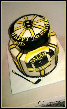 10 Best Boston Bruins Cake Ideas Images