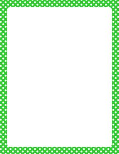 Printable lime green and white polka dot border. Free GIF, JPG, PDF, and PNG downloads at http://pageborders.org/download/lime-green-and-white-polka-dot-border/. EPS and AI versions are also available.