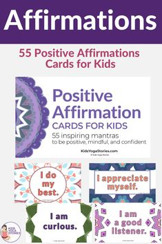 Yoga poses for the New Year for kids. Try out these 5 positive affirmations for kids plus 5 associated yoga poses to start the New Year off right. Positive Affirmations For Kids, Positive Life, Kids Yoga Poses, Yoga For Kids, Kindness Activities, Motor Activities, Kinesthetic Learning, Yoga Themes, Yoga Lessons