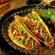Receta de tacos con carne de Soya
