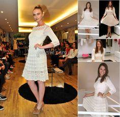 Платье Фуджи от Ванессы Монторо. Схемы вязания крючком