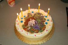 Isabel's Fairy Birthday Cake