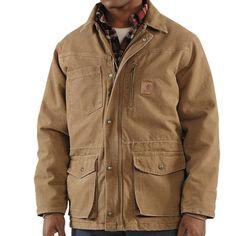 Carhartt Rancher Sandstone Coat - Insulated Frontier Brown
