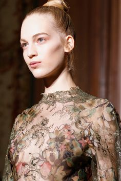 Detail at Valentino haute couture F/W 2012