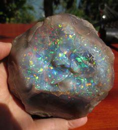 Énorme rugueux éthiopien Welo opale  couleurs par ZoZoDesignsUSA