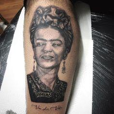 #frida #fridadövmesi #fridatattoo Portrait, Tattoos, Tatuajes, Headshot Photography, Tattoo, Portrait Paintings, Drawings, Portraits, Tattos