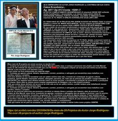 COMPRE LIVROS DO #AUTORJORGERODRIGUES. Visite as 2 páginas de #livros do Autor NOS LINKS ABAIXO e veja os livros. São mais de 20 livros de diversos gêneros! #tubecast #simfuje  DIVERSOS GÊNEROS  http://clubedeautores.com.br/authors/63447 ARTE MARTIAL  http://clubedeautores.com.br/authors/86334