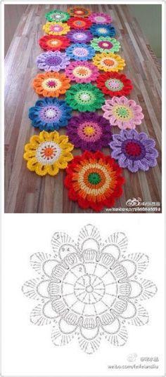 Square flores