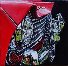 Triumph TR4 by Loek Bakhuizen