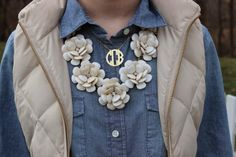 Preppy by the Sea: Warmer Weather in Chambray