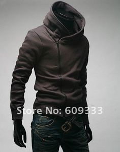 Autumn 2011 new trend of Japan and South Korea men's personality brushed oblique zipper men sweater men's jacket