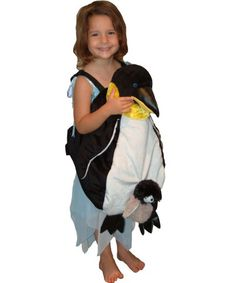 Penguin Wrap N Ride Child Costume | KIDS