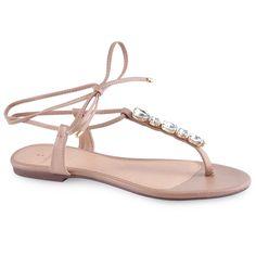 Sandália Salto Baixo Elegance Preta | Sapatos para