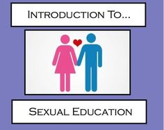 Sexual Education / Healthy Relationships Unit