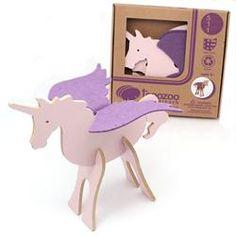 Topozoo - Unicorn 3-D Puzzle #90301