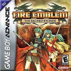 Fire Emblem Sacred Stones - Game Boy Advance Game