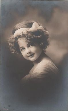 Vintage Postcard ~ Little Girl | Flickr - Photo Sharing!