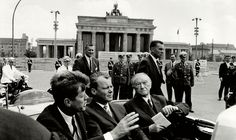 "WEEKENDER: ""ICH BIN EIN BERLINER"" PART II - About John F. Kennedys Berlin visit 50 years ago."