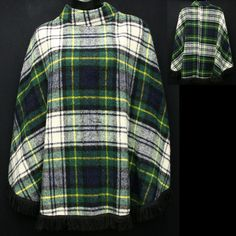 Are you kidding me?!?!  A plaid poncho??!!  Well duh, I want it!  It's poncho, that's plaid!!!!!