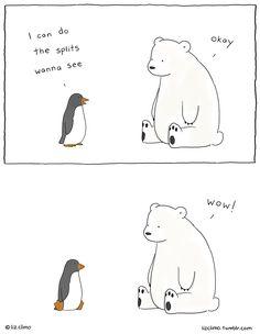 Liz Climo Draws Comics of Animals with Wry Senses of Humor