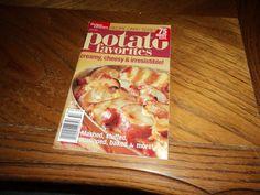 Better Homes & Gardens Recipe Card Series Potato Favorites Cookbook Feb 2005
