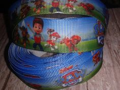 Paw Patrol Grosgrain Ribbon by ILoveYouMoreCreation on Etsy