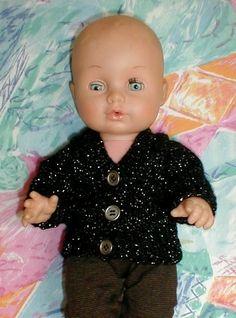 Dukketøj Baby Born strikket trøje
