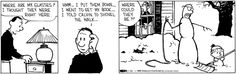 Calvin's good eye for imitation art