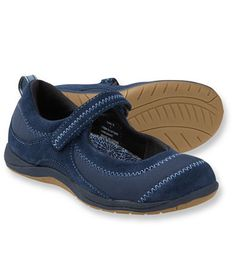 L.L.Bean Girls' BeanSport Mary Janes
