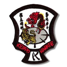 Tiger Dragon Kenpo Karate Patch now available at http://www.karatemart.com/