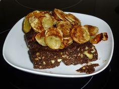 natassa's bake blog: Μωσαϊκό με μελωμένες μπανάνες #mosaic_walnuts_bananas_honey #valentines_day