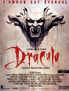Dracula est un film de Francis Ford Coppola de 1992 avec Gary Oldman, Winona Ryder. Synopsis : En 1492, le prince Vlad Dracul, revenant de combattre les armées turques, trouve sa fiancée suicidée. Fou de douleur, il défie Dieu, et devient le comte Dracula, vampire de son état.