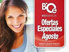 BIOESENCIA COSMTÉTICA NATURAL: SUPER OFERTAS AGOSTO!!!