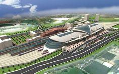 Ankara High Speed Train Terminal in Ankara, Turkey