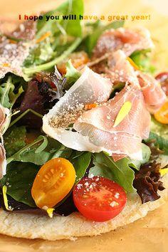 WLS : マンカフェちゃんの♪カリフラワークラストのピザ
