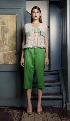 Aziz Bekkaoui Spring 2014 - Look 14