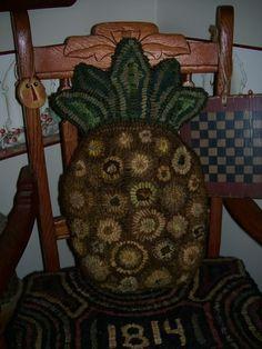 Primitive Rug Hooking Pattern Penny by hookedonprimitives on Etsy, $12.00