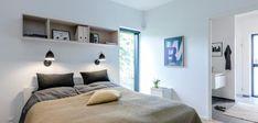 Billeder af Funkis huse - Se de mange muligheder i Funkis husene Bed, Inspiration, Furniture, Home Decor, Biblical Inspiration, Stream Bed, Interior Design, Home Interior Design, Beds