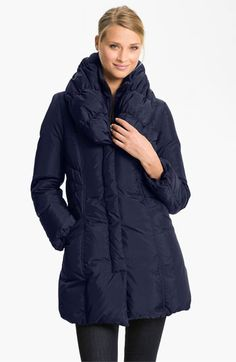 Tahari 'Adelle' Pillow Collar Coat (Nordstrom Exclusive) available at #Nordstrom    Bought this today!!!
