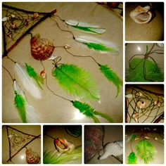 "Dreamcatcher ""Herbal ocean"" by CatWorkshopDream on Etsy"