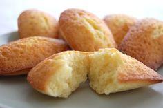 Madeleines saveur vanille