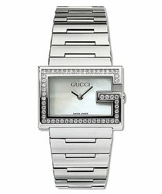 100 G Mother of Pearl Dial Stainless Steel Diamond | Your #1 Source for Watches and Accessories
