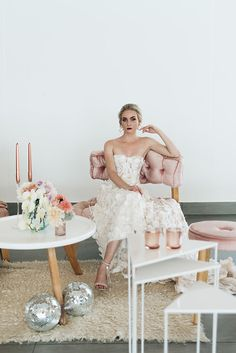 Photo from Lisa Brown Styled Shoot collection by Alecia van Aarde Girls Dresses, Flower Girl Dresses, Brown Fashion, Sd, Wedding Dresses, Inspiration, Collection, Style, Bride Dresses