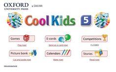 """Materiales y actividades interactivas complementarias de Inglés de 5º Nivel de Educación Primaria, """"Cool Kids"""", de Editorial Oxford."""