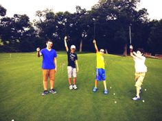 Performance Golf Academy making junior golf made fun at Sherrill Park #GolfMadeFun