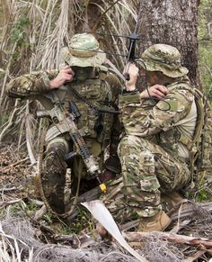 Australian Army special forces soldiers from 1st Commando Regiment during Exercise Diamond Strike at Shoalwater Bay training area, Queensland, in June 2015.