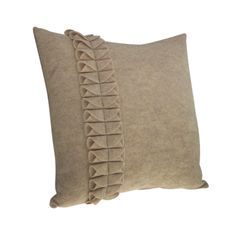 Wool Blend Felt Pillow