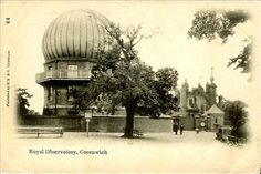 Old Postcard, London, Greenwich Observatory