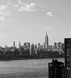 #Manhattan from Brooklyn via the #Williamsburg Bridge