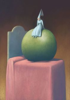 PRINCESS AND THE PEA BY GIANNI DE CONNO
